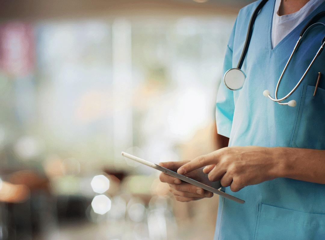 HIPAA compliant healthcare mobile application